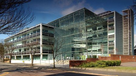Suffolk County Council headquarters; Endeavour House, Ipswich.