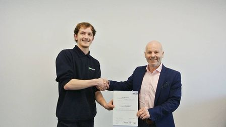 Ashley Herbert and Lewis Hodges have recently completed their apprenticeships at Harrod UK. Ashley