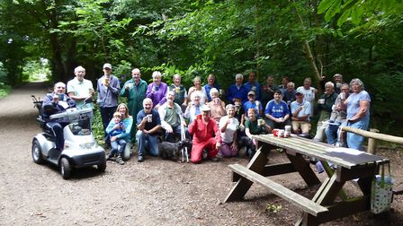 Gunton Woodland Community Project. Picture: GWCP