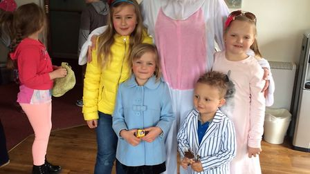 The Easter bunny at at Lilac Lodge and Lavender Cottage care home in Oulton Broad. Picture: Kingsley