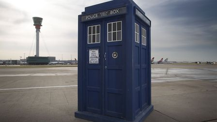 The Tardis from Doctor Who. (Image: BBC)