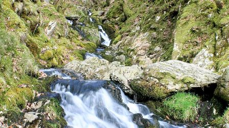 Lowestoft Journal picture of the week - Elan Valley waterfall. Photo: Marcus Goldsby