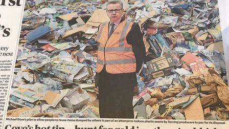 Michael Gove appears in the Times newspaper