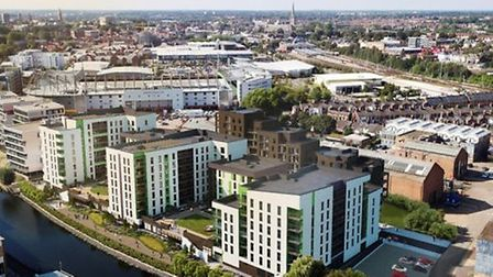 A new rootfop has made Canary Quay one of the tallest buildings in Norwich - offering views similar