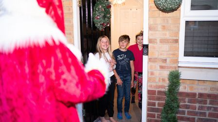 Each Santa visit lasts 15 minutes for up to four children Picture: @richardjarmy - www.richardjarmy.