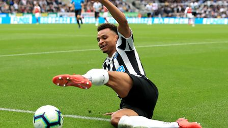 Jacob Murphy moved to Newcastle from City for £14m. Picture: PA