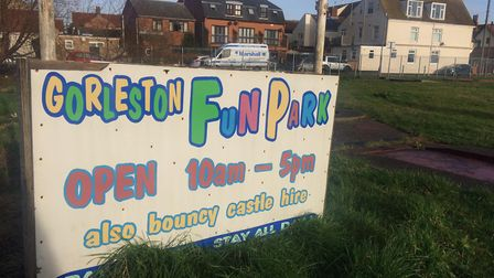 The future of Pop's Meadow, a former kids' fun park in Gorleston which has now been derelict for two