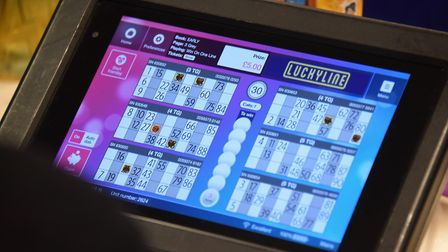 The digital way to play at the Mecca Bingo. Picture: DENISE BRADLEY