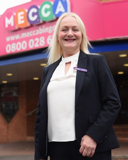 Janette McCracken, general manager at the Mecca Bingo. Picture: DENISE BRADLEY