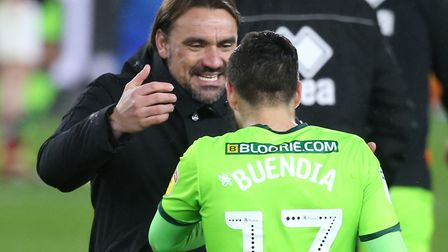 City boss Daniel Farke has made it clear he does not want to lose Emi Buendia or Todd Cantwell Pictu