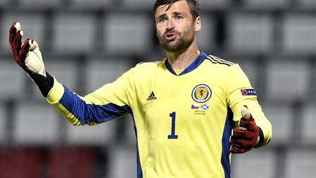 Scotland goalkeeper David Marshall, who made 105 appearances for Norwich between 2007 and 2009, join