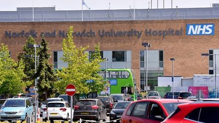 Norfolk and Norwich University Hospital. Picture: Nick Butcher