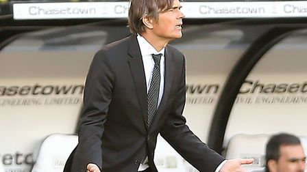 It's been a frustrating start to the season for Derby manager Phillip Cocu Picture: Nigel French/PA