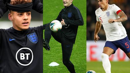 City players Max Aarons, Ben Godfrey and Spurs loanee Oliver Skipp have been named in Aidy Boothroyd