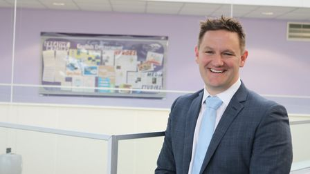 Kevin Blakey took over as principal at Great Yarmouth Charter Academy in September. Picture: Courtes