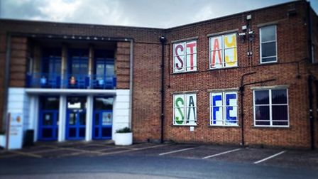 Hewett Academy in Norwich joined forces with parents to make sure the school community remained stro