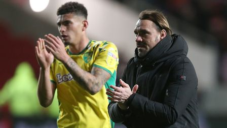 Daniel Farke is left to pick up the pieces after losing Ben Godfrey. Picture: Paul Chesterton/Focus