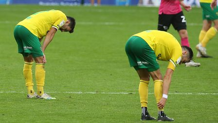 Norwich City were unfortunate to lose to Derby County. Picture: Paul Chesterton/Focus Images Ltd