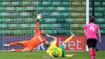 Teemu Pukki's penalty miss was a turning point. Picture: Paul Chesterton/Focus Images Ltd