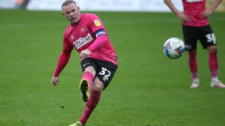 Wayne Rooney - 34-years-old and still full of quality. Picture: Paul Chesterton/Focus Images Ltd