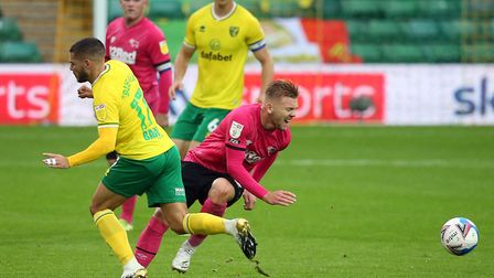 Emi Buendia returned to the Canaries starting line-up against Derby. Picture: Paul Chesterton/Focus
