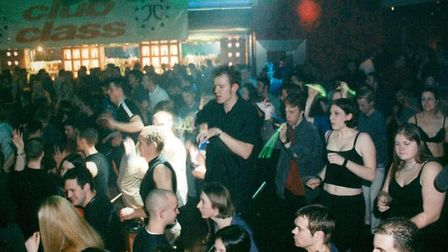 Norwich nightclub, Time, 2000. Picture: Archant Library