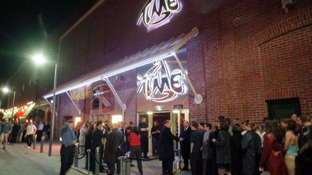 Time nightclub in Norwich in 2001. Picture Archant.