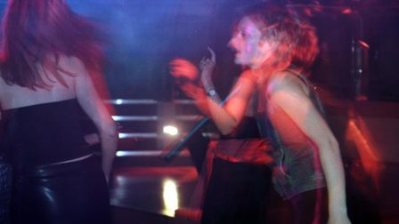 People dancing at Time nightclub on Riverside in Norwich. Picture Natasha Lyster.