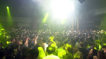 Huge crowds at Time nightclub in Norwich. Picture Archant.