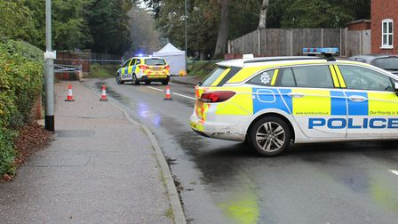 A murder investigation has been launched in North Walsham after reports that a man was stabbed in th