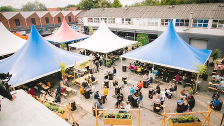 Norwich's Junkyard Market at the car park at St Mary's Works Picture: Junior @DN.IMAGERY
