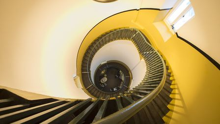 Inside Southwold lighthouse. PHOTO: Nick Butcher