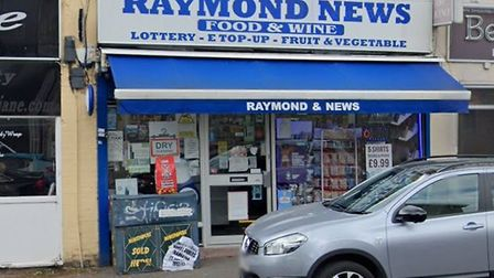 Raymond News was raided by youths, stealing cash and cigarettes and leaving a man with knife injures