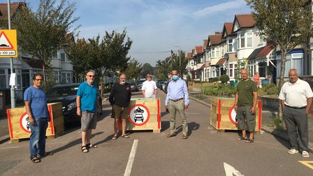 A group of residents in Barkingside are strongly opposed to the new Quiet Streets scheme. Picture: R