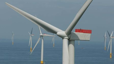 The giant Greater Gabbard offshore wind farm off Felixstowe/Hariwch is set to expanded under a new d
