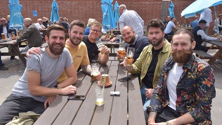 The Greyhound has expanded its beer garden over the coronavirus lockdown Picture: Picture: SONYA DU