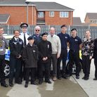 The open day for the Lowestoft Emergency Services Cadets at the North Lowestoft Fire Station. Pictur