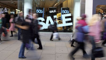 The 'back-to-school' boost failed to materalise for high street shops. Photograph: Scott Barbour.