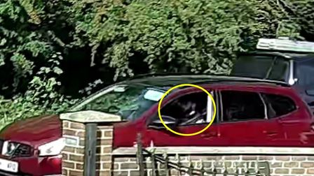 Police want to speak to this man, seen in a red Nissan Qashqai on the day the boys disappeared. Pict