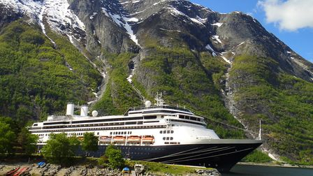 Borealis, Fred. Olsen's new vessel that has joined the rest of its fleet Picture: FRED. OLSEN