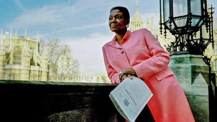 Valerie Ann Amos, Baroness Amos CH PC, photographed for the Black Britannia photo exhbition. She was
