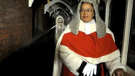 British High Court judge Mrs Justice Linda Dobbs, photographed in London for inclusion in the 'Black