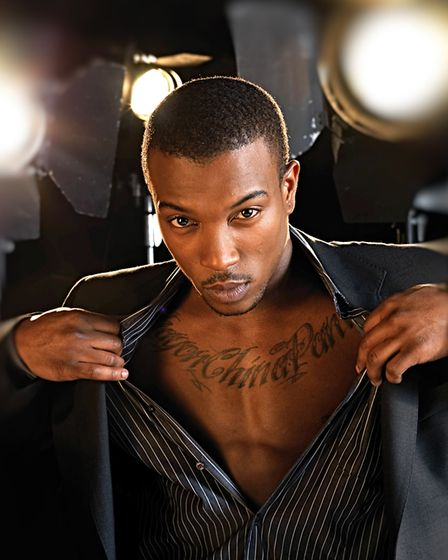 British rap singer/songwriter and actor Ashley Walters, photographed in London for inclusion in the