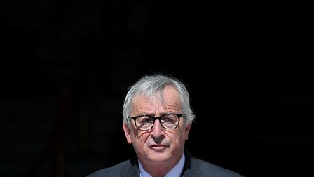 President of the European Commission, Jean-Claude Juncker appeared to poke fun at Theresa May by dan
