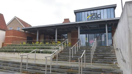 The Hold at the University of Suffolk has opened its doors to the public. Picture: BRITTANY WOODMAN