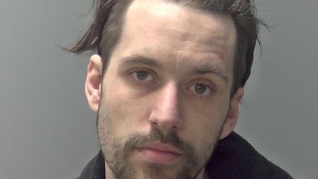 Jordan Carr - jailed for five years for his part in an armed robbery at a Tesco Express in Bury St E