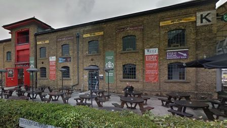 Warehouse K is next door to the ExCeL exhibition centre which is where the NHS Nightingale Hospital