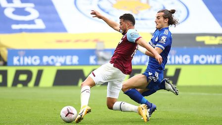 West Ham United's Pablo Fornals scores his side's second goal of the game during the Premier League
