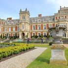 Somerleyton Hall and gardens in North Suffolk. The estate was originally bought by Sir Samuel Peto i