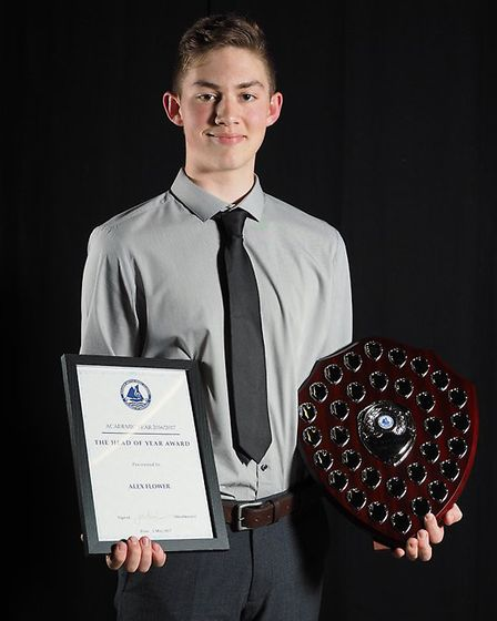 Award winners at the Benjamin Britten Music Academy ceremony. Picture: Angela Adams Photography
